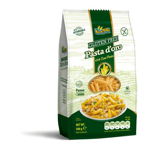 kukurūzų makaronai be glitimo vamzdeliai