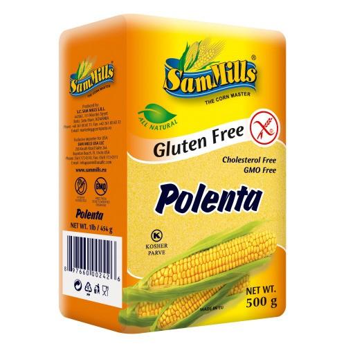 stambaus malimo kukurūzų miltai polenta