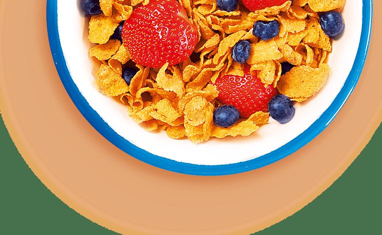 sausi pusryčiai bona vita