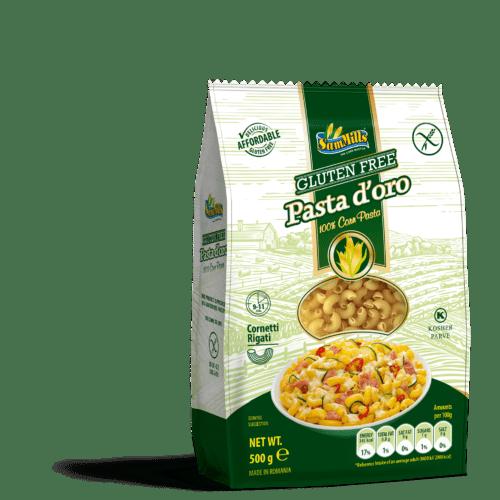 kukurūzų makaronai be glitimo rageliai